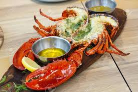Grilled Whole Lobster With Garlic And ...