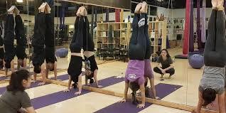advanced yoga flow at i m fly studio