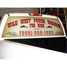 Custom Truck Back Window Decals Rear Window Graphics Apm