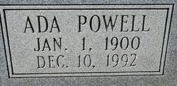 Ada G Powell Nuckols (1900-1992) - Find A Grave Memorial