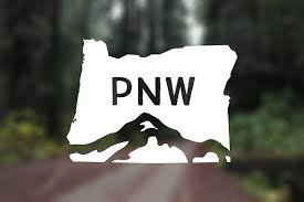 Pnw Vinyl Oregon Vinyl Pnw Is Best Pacific Northwest Etsy Silhouette Cameo Vinyl Mountain Decal Vinyl