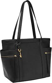 fossil women s caitlyn leather tote