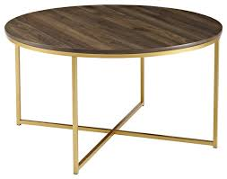 36 coffee table with x base