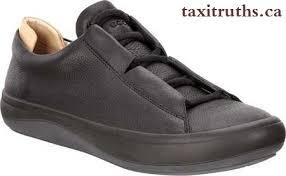 black veg tan leather men ecco kinhin