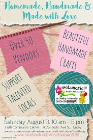 handmade made with love craft fair