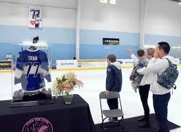 Etobicoke Dolphins retire #77 during tearful tribute to Abbey Tran |  Toronto.com