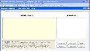 format free math comtion