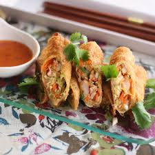 Lobster Spring Rolls with a Citrus ...