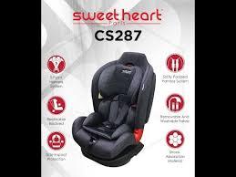 sweet heart paris cs287 cushion remove