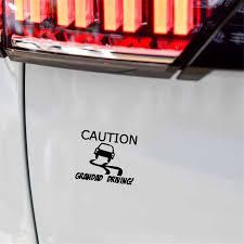 Yjzt 15cm 12 8cm Caution Grandad Driving Personality Car Sticker Vinyl Decal Black Silver C10 01810 Car Stickers Aliexpress