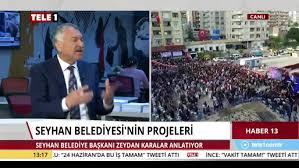 Zeydan Karalar - İstanbul'da TELE 1 TV'nin canlı yayın...