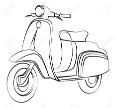 Tranh tô màu xe máy - Cẩm Nang Cho Mẹ và Bé