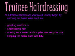 what is a hairdresser hairdressers cut colour and shape their
