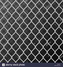 Realistic Glossy Metal Chain Link Fence Seamless Pattern On Transparent Background Stock Vector Image Art Alamy