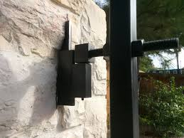 Adjustable Driveway Gate Hinge Cactus Fence A Houston Fence Company