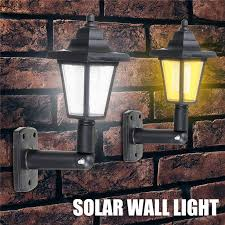 solar led wall lamp waterproof outdoor