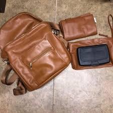fawn diaper bag w stroller hooks