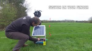 Setting Up A Solar Electric Fence For Cattle And Sheep How To Youtube