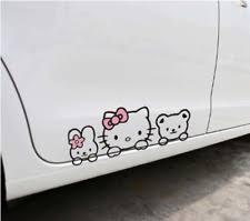 Cute Cat Car Decal Ebay
