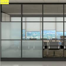 china aluminium frame glass partitions