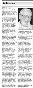 James Milo Nyre obit - Newspapers.com