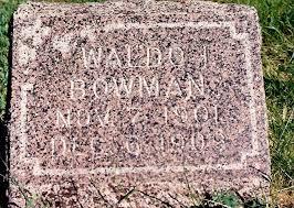 Waldo Ivan Bowman (1901-1909) - Find A Grave Memorial