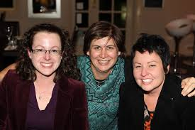 Dining at Seasons on Ruthven are Helen Swenson, Cathy Perkins ...