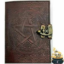 pentagram blank mahogany brown leather