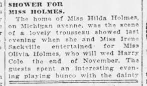 Hilda Holmes - Newspapers.com