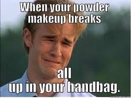 makeup gone wrong quickmeme