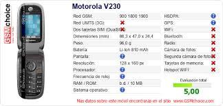 Motorola V230 ...