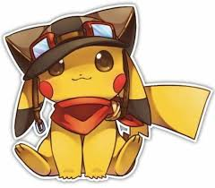 Pokemon Pikachu Anime Car Window Decal Sticker 004