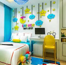 Cloud Cartoon Wall Sticker Removable Acrylic Wall Decal Children Room Mural Kids Room Decoration Wallpaper Moon Stars Wall Decor Wall Stickers Aliexpress