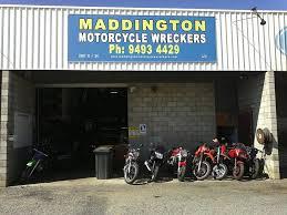 maddington motorcycle wreckers