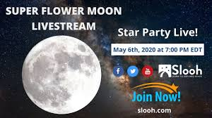 Full Flower Moon': See the last supermoon of 2020 at its best in ...