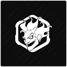 Junkrat Player Icon Overwatch Logo Symbol Avatar Vinyl Decal Etsy