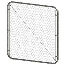 Chain Link Fencing The Home Depot Canada