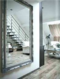 floor to ceiling mirror for wall cute