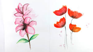 watercolor painting how to draw
