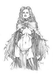 Goblin Queen By Mitch Foust Kleurplaten