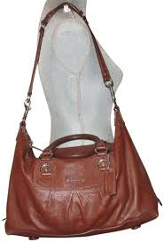 large satchel purse brown leather