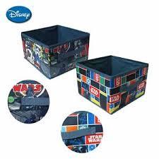 Kids Cartoon Set Of 2 Star War Storage Cubes 27 X 27 X 18 Cm Ebay