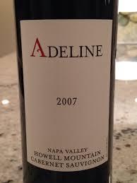 Adeline Cabernet Sauvignon   Wine Info