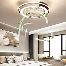 Amazon Com Ttfgg Fan Ceiling Light 45w Led Ceiling Light Creative Modern With Remote Control Quietly Ceiling Fan Bedroom Lamp Kids Room Living Room Ceiling Fan White S Home Kitchen