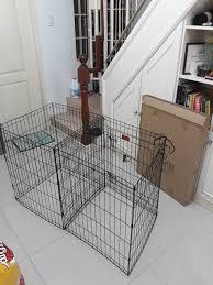 Dog Cage Dog Fence Dog Pen 8 Panels 1 Door Pl 2 5 Resizeable Lazada Ph