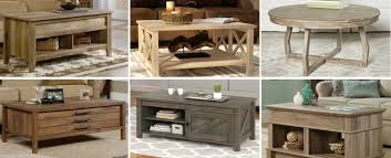 farmhouse coffee tables rustic coffee