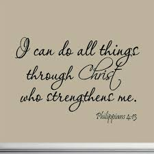 Vwaq I Can Do All Things Through Christ Who Strengthens Me Philippians 4 13 Contemporary Wall Decals By Vwaq Vinyl Wall Art Quotes And Prints