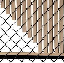 Amazon Com Tube Slats Privacy Inserts For Chain Link Fence Double Wall Vertical Bottom Locking Slats For 7 Fence Height Beige Garden Outdoor