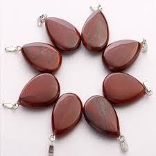 natural gemstone water drop beads stone
