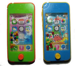 cell phone toy water pinball game